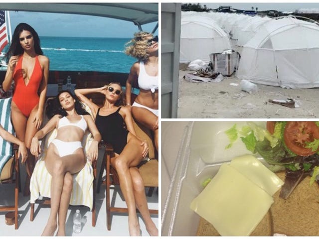 Un festival d'influences qui cobraba $ 13.000 par année terminale en vente dans les Caraïbes caribeños