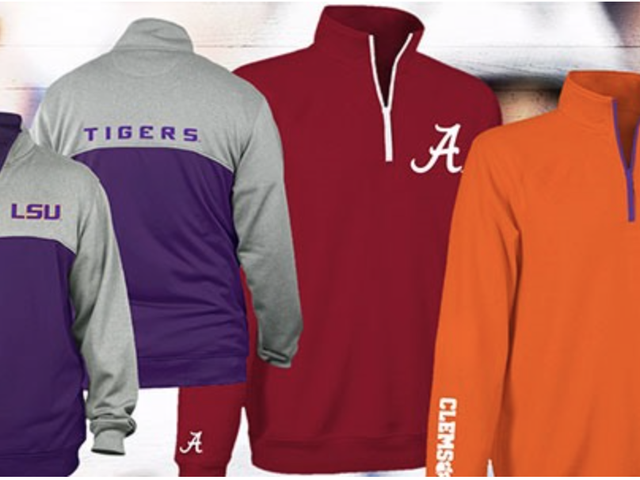 Stay Warm at Your Next Tailgate With a $25 NCAA-Licensed Fleece