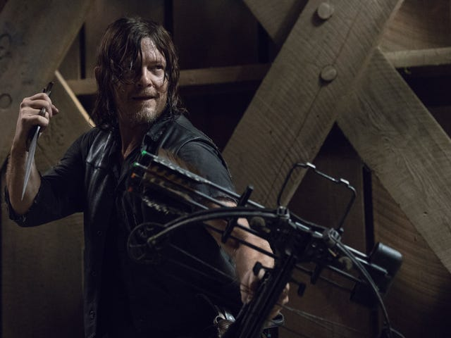 The Walking Dead returns with a cool new villain—and better yet, they're actually scary