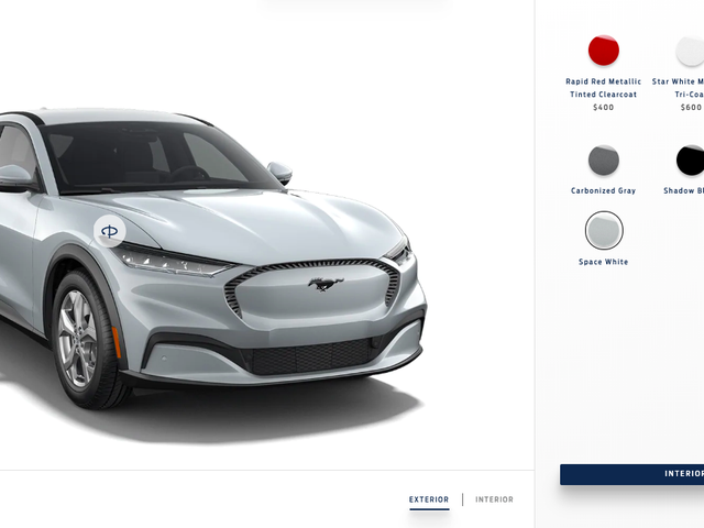 The 2021 Ford Mustang Mach-E Configurator Is Live—Here's The Electric SUV I Would Buy