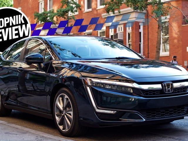 2018 Honda Clarity Plug-In er en elektrificeret bil, der ikke kræver kompromiser