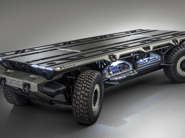 GM Shows Off A New Autonomous Fuel-Cell Truck Platform Called SURUS And It's Pretty Damn Cool