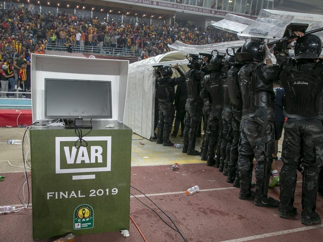VAR Malfunction Turns African Champions League Final Into Protracted Shitshow
