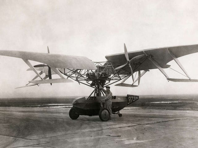 The Curtiss-Bleecker Helicopter