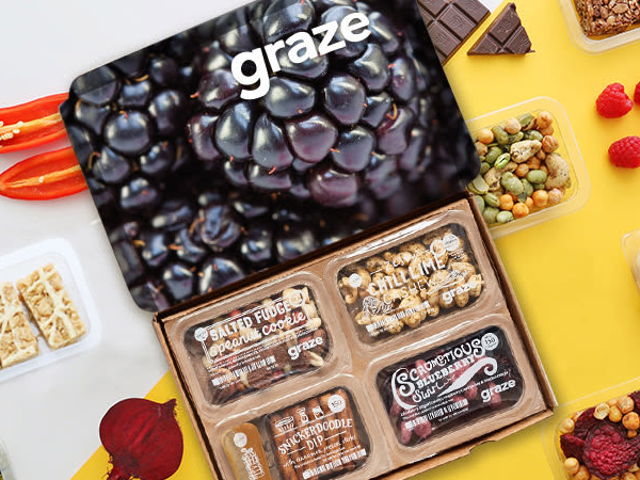 Get A Free Box Of Delicious Snacks From Graze And Stay Satisfied