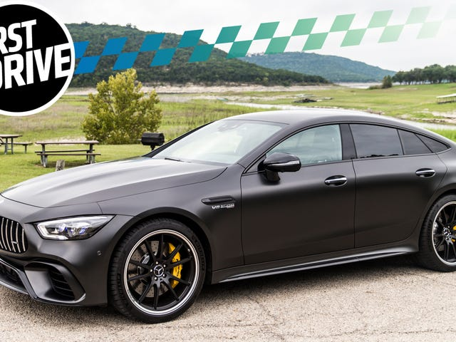 The 2019 Mercedes-AMG GT 63 S 4-Door Gives The Porsche Panamera A Run For Its Money