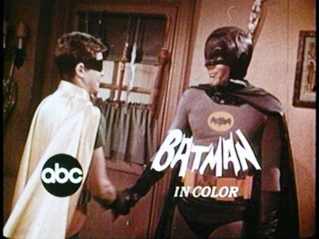 Batman Promos