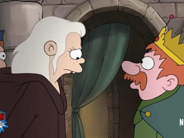 Here's Your First Trailer forDisenchantment, Matt Groening's Netflix Fantasy Cartoon