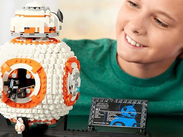 You Can Build BB-8 Out Of LEGO, Apparently - Just $71 For 1,100+ Pieces