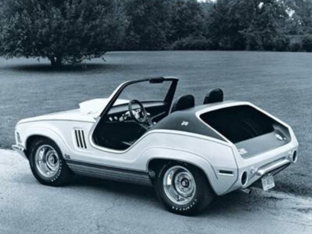 Jeep concept muscle car