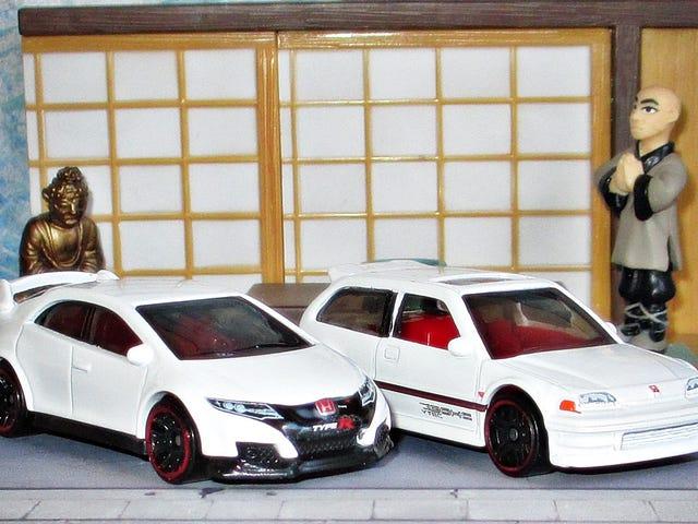 Ημέρα της ανερχόμενης ηλιόλουστης ημέρας: Honda Civic - Zen and Now