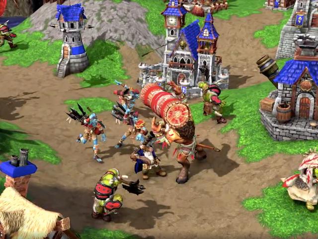 <i>Warcraft 3</i>正在重新制作