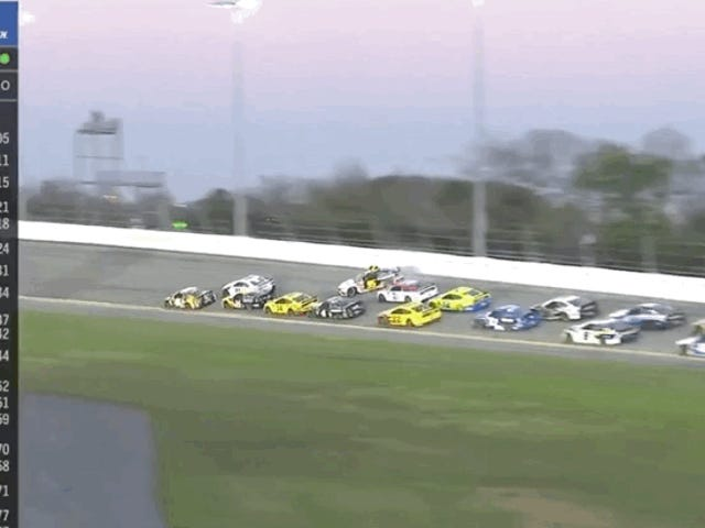 Massive Daytona 500 Crash Collects Half of the Field
