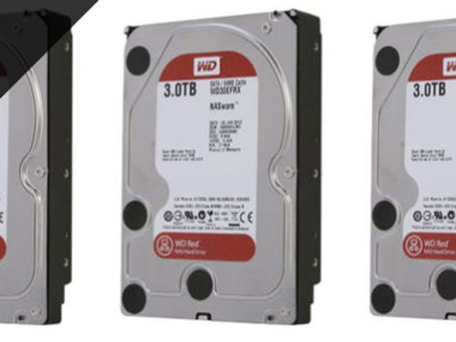 Cheap Hard Drives, and a NAS to Stick Them In