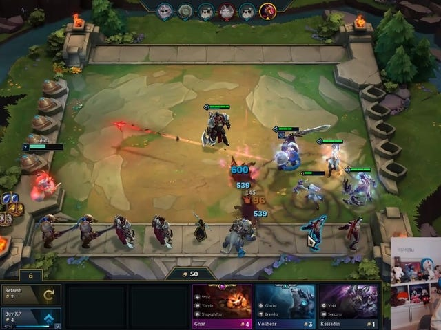 Longtime Twitch Streamer Is Thrilled To Be <i>Teamfight Tactics</i>' Best Player