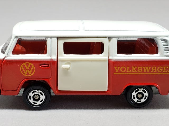 [REVIEW] Tomica Volkswagen Microbus