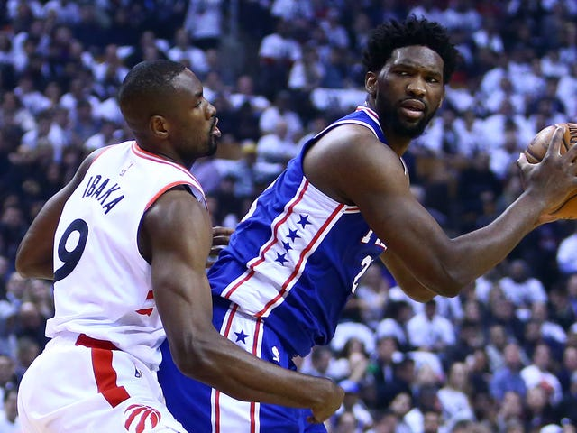 In Game With Gut-Sick Joel Embiid, Raptors Are The Ones To Shit Their Pants