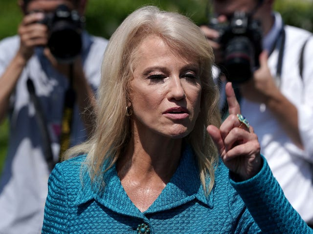 Kellyanne Conway Goes on Unhinged Rant and Asks Reporter 'What's Your Ethnicity?'