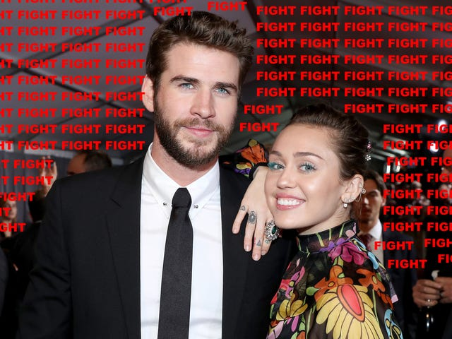 Liam Hemsworth and Miley Cyrus are Locked in a Sexy Paparazzi Death Match