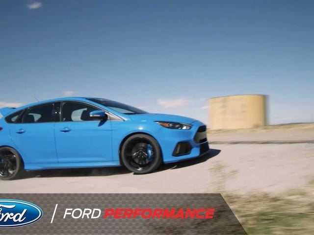 "Ford's new ""Drift Stick"" for the Focus RS"