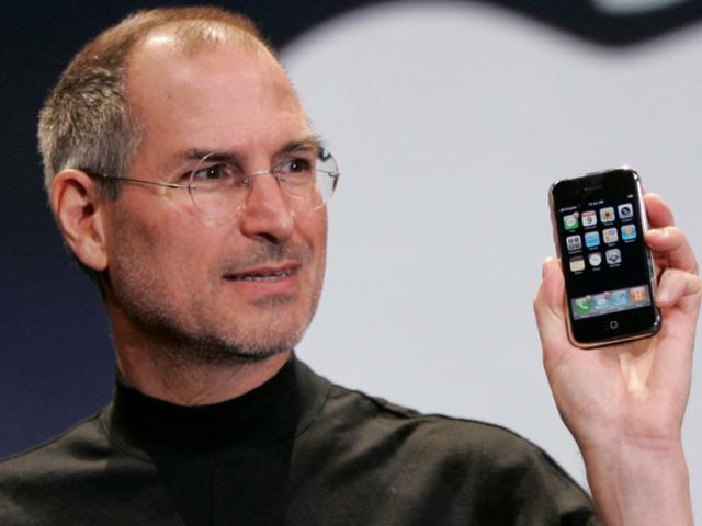 Du er her, og du er Steve Jobs emocionaba al mundo