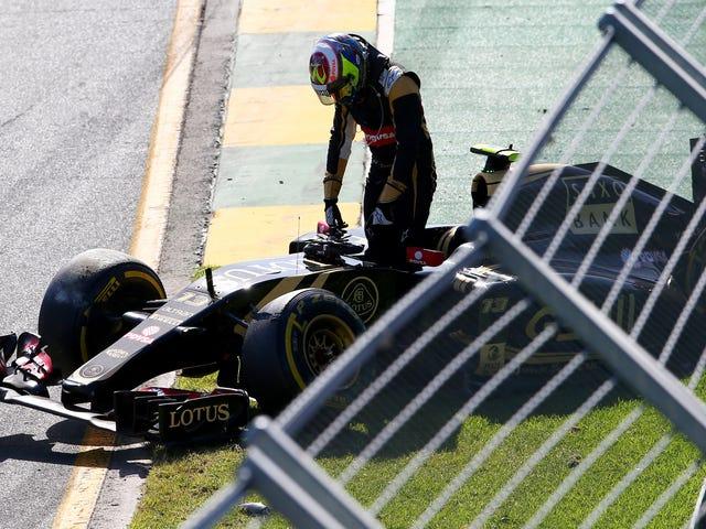 Звіт: Мальдонадо може втратити місце F1, тому що драйвери плати повинні платити за часом