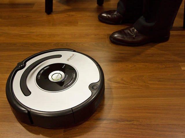 Hackea una Roomba para que grite e insulte cuando se choca con los muebles