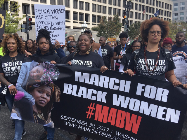 Thousands Descend on Washington, DC, for the March for Black Women