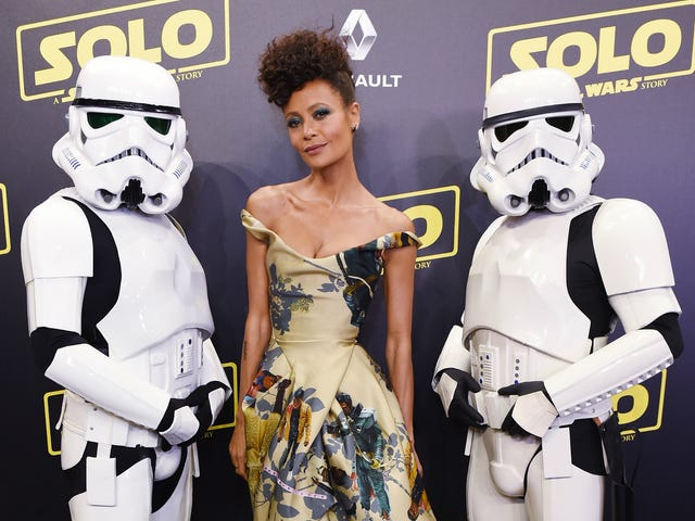 Rolling Solo: Thandie Newton Made a Stylish Statement About Representation at Cannes