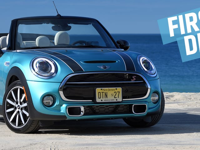 The 2016 Mini Cooper S Convertible Is A Huge Dose Of Fun With The Price Tag To Match