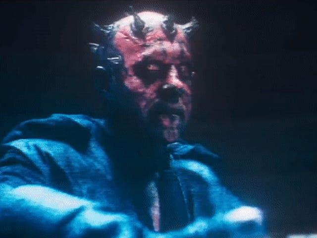 डार्थ मौल की अंतिम विरासत पर सैम विटवर्थ, The Phantom Menace मेंस से Solo