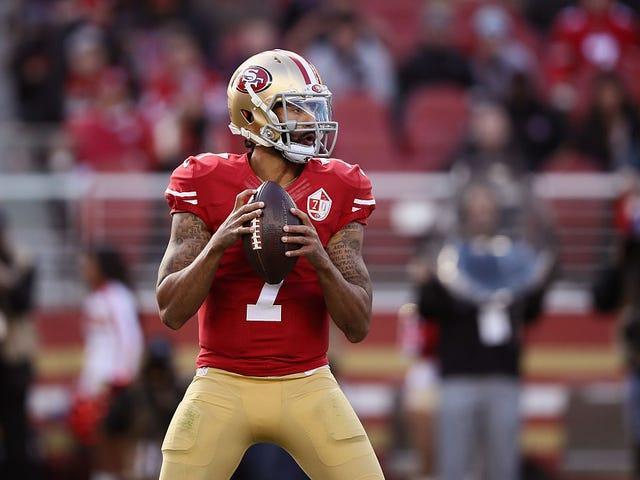 Falsa bomba presidencial: Trump ahora dice que está bien con Colin Kaepernick jugando en la NFL