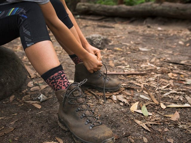Prevent Hiking Blisters by Wearing Wool Dress Socks Under Your Normal Socks