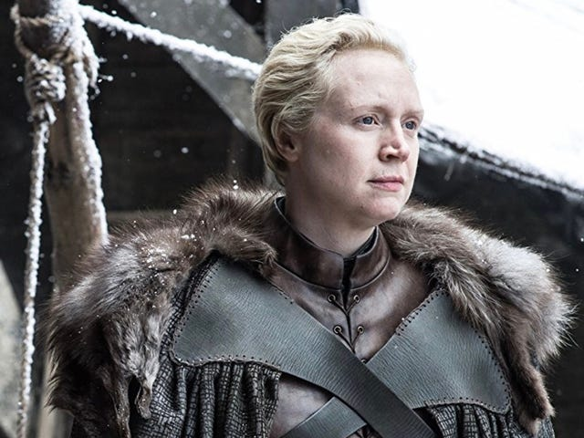 Gwendoline Christie Had a Predictable Emotional Response to Completing Her Work on Game of Thrones