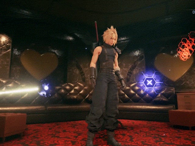 I Need Much More Of Final Fantasy VII Remake's Dancing Mini-Game