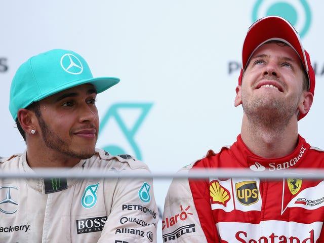 Bir Mercedes Malezya Grand Prix'sini Kazanmadı