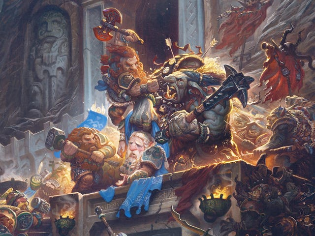 The Battle Of Moria