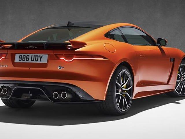 Jaguar F-Type SVR Will Hit 200 MPH For $126,000