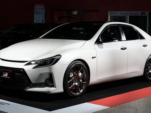 The Toyota Mark X GRMN Is The Badass Rear-Wheel Drive Avalon Of Your Dreams