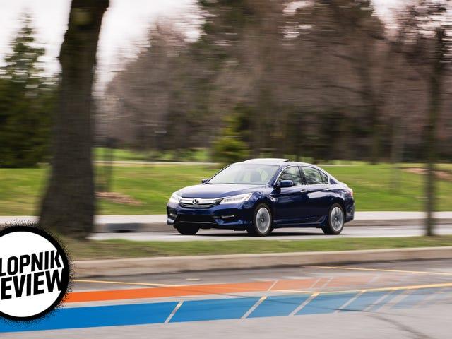 2017 Honda Accord Hybrid: la revisión Jalopnik