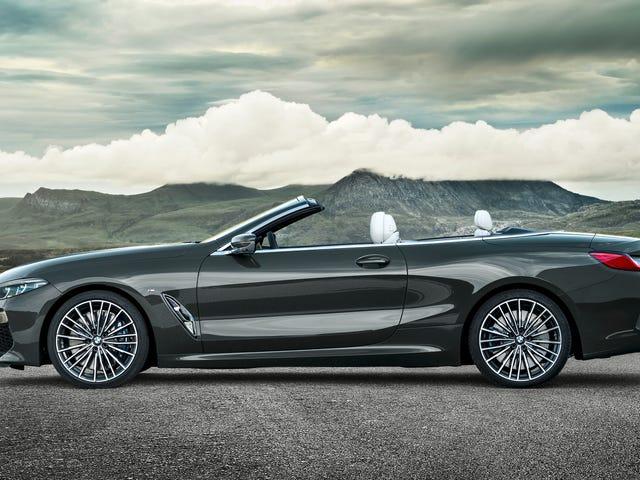 Το 2019 BMW Σειρά 8 Convertible θα κρατήσει το λαιμό σας εξαιρετικά ζεστό σε 155 MPH