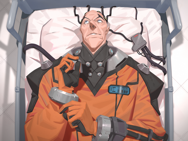 Sigma's New 'Asylum' Skin Raises Concerns About Overwatch's Handling Of Mental-Illness Tropes