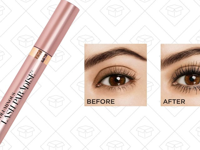 L'Oreal's Lash Paradise Is a Godsend For Crappy Lashes, And It's Only $6 Right Now