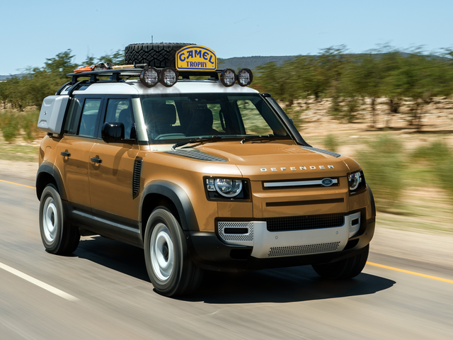 Voici à quoi pourrait ressembler le Trophée Camel Land Rover Defender 2020