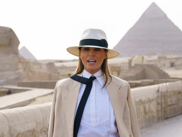 Melania Trump Says Women Accusing Men of Sexual Assault Must 'Show the Evidence'