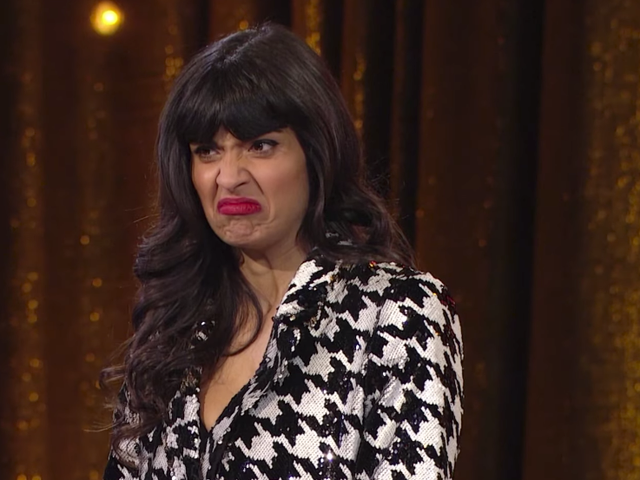 Jameela Jamil's new game show feels kind of like scrolling through the world's crappiest Twitter feed
