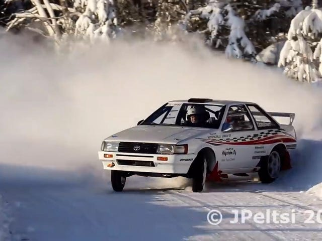 The Ultimate Drift Corolla Is Still One Of The Best Rally Cars Around