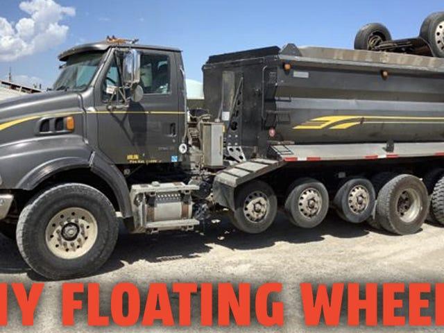 Tại sao một số xe tải có những bánh xe thêm mà không luôn chạm đất
