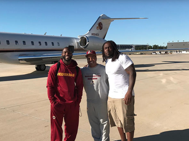 NFLPlayers Take Team Owner's Private Jet to Deliver Supplies to Haiti