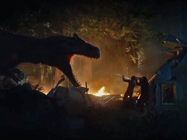 Nye Jurassic World Short Shows, hvor skruede mennesker er nu